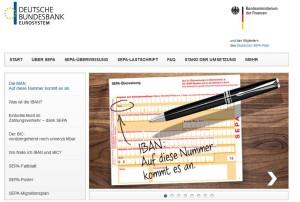 www.sepadeutschland.de (Screenshot)