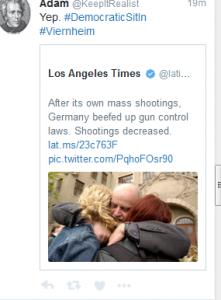 Waffengesetze?
